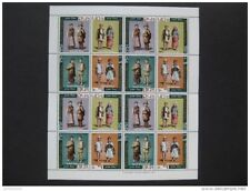 timbres Nepal : bloc costmes1973 **