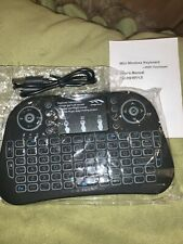 2.4GHZ Mini Wireless QWERTY Keyboard Touchpad for Smart TV Android Box PC HTPC