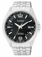 Citizen Eco-Drive Analog Quarz Solar Funk Herren-Armbanduhr CB0010-88E