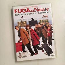 FUGA DAL NATALE RARO DVD VENDITA SIGILLATO - JOHN GRISHAM TIM ALLEN DAN AYKROYD