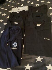 Poloshirt T-Shirt 9 Stück Konvolut 3XL 4XL Arbeit VW