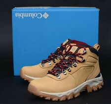 NIB COLUMBIA Newton Ridge Plus II Brown Omni-Grip Waterproof Hiking Boots 10 43