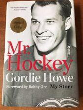 GORDIE HOWE SIGNED AUTOGRAPH MR HOCKEY 1ST EDITION/1ST PRINT HC BOOK Jsa Coa