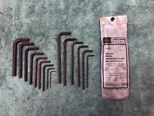 Vintage Craftsman USA Metric 20 Piece Hex Key Set 9 46677 Made in USA