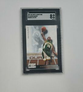 2007-08 Topps Luxury Box Rookie #75 Kevin Durant BRONZE 237/249 SGC 8 A2H15