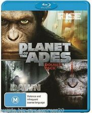 Rise Of The Planet Of The Apes  & Dawn Of The Planet Of The Apes