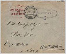 ITALIA REGNO storia postale: BUSTA -- CARTEGGIO REALE 1924