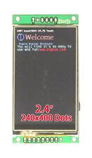 "2.4"" 400x240 16:9 Serial:UART/I2C/SPI TFT Touchscreen Display Module for Arduino"