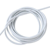 Home White Window Net Curtain Wire Hanging Flexible Wire Cord Cable DIY W