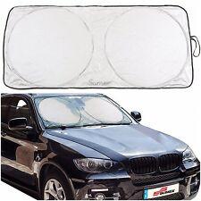 Universal Car Windscreen Foldable Front Visor Reflective Sunshade - M 66 x 142cm