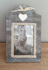 Bilderrahmen grau Landhaus Stil 26 x 16 cm für Fotos 10 x 15 cm Neu!