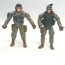 """Chap Mei Lot of 2  4"""" Military Soldier Force Spec Opps Action Figures"""