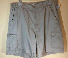 MAGELLAN khaki shorts SZ 36 cotton 5 pockets