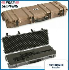 "40""  Rifle Hard Carry Case Tactical Scoped Gun Waterproof Storage Box Wheels TSA"