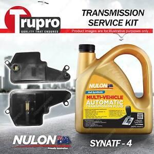 Nulon SYNATF Transmission Oil + Filter Service Kit for Mazda 3 BL 6 GJ CX-5 KE
