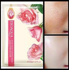 Rose Korean Silk Face Mask Dark Spots Anti Ageing Moisturizing Face Mask