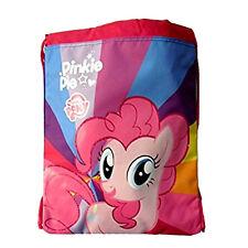 MY LITTLE PONY Bag backpack drawstring fabric fuchsia retro violet PINKY PIE 41,