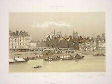 HOFF006 Paris Seine Hotel ville 1740 place de Grève port au blé quai Pelletier