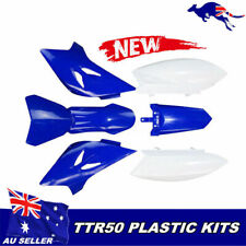AU ! New Body Plastic Fairing Fender Cover Kit for Yamaha TTR50 TTR 50 Dirt Bike
