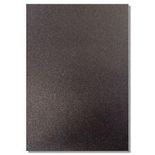 2 x A4 Fogli Di 220gsm Premium Dovecraft Glitter Nero CARD