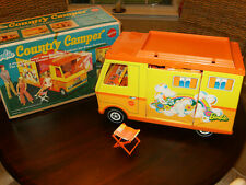Vintage 1970 Barbie Country Camper With Box