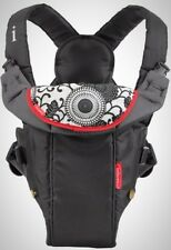 Infant Baby Carrier Wrap Backpack Cotton Black Adjustable Newborn Kid Sling New