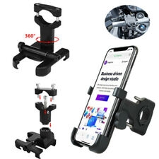 1x Aluminum Alloy Bicycle Handlebar Mobile Phone Mount Motorcycle Support Holder