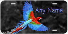 Blue Macaw Any Name Personalized Novelty Car License Plate