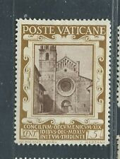 VATICAN CITY unused Scott 110 5ct 400th Anniversary of Council of Trent OG H