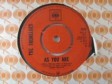 """THE TREMELOES As You Are/Suddenly You Love Me UK 7"""" Single VG Cond"""