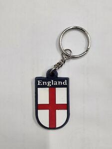 England Football Badge Rubber keyring Euro 2021 St Georges English Flag