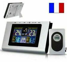 Station Météo Sans Fil LCD Intérieur Extérieur  Horloge Calendrier Thermomètre