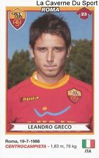 LEANDRO GRECO ITALIA AS.ROMA RARE UPDATE STICKER CALCIATORI 2011 PANINI