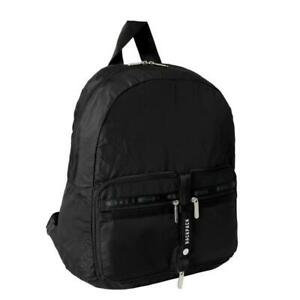 LeSportsac Solid Collection Travel Packable Backpack in Heritage Dusk NWT