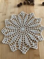 12Pcs/Lot Vintage Hand Crochet Lace Doilies Coasters Cotton Small 20cm Item6