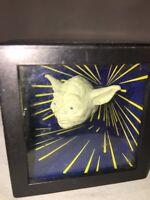 1996 Star Wars Empire Strikes Back Shadow Box Darth Vader Yoda