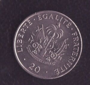 HAITI 20 CENTS 1991