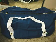 NESSI CANVAS NAVY / WHITE HOCKEY BAG - SENIOR SERIES - NEW