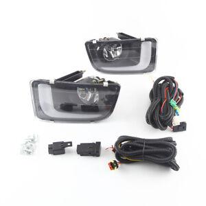 LED Daytime Running Lights DRL Turn Signals  Fog Lamp for ISUZU D-MAX 2014-15