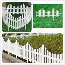 12x Garden Border Fencing Fence Pannels Outdoor Landscape Decor Edging