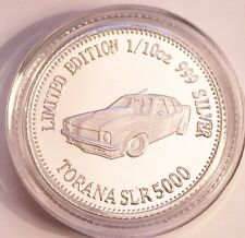 NEW Torana SLR 5000 MCS1 Certified 1/10th Oz 999.0 Pure Silver Bullion Coin