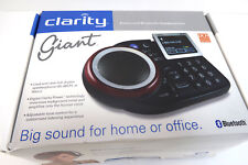 Clarity Giant Bluetooth Extra Loud Remote Controlled Speakerphone Mint Ships Fas