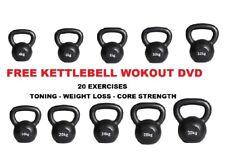 Kettlebell Set Cast Iron Kettle Bell Fitness Kettlebells Free Kettlebell DVD