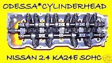 FIT NISSAN 240SX PICKUP 2.4 SOHC CYLINDER HEAD CAST#40F ENGINE KA24E REAR WHEEL