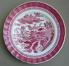 Spode Mandarin Pink Red 1 Salad Plate + 2 Bread & Butter + 1 Saucer
