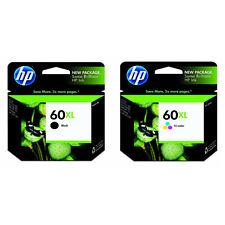 GENUINE Brand New HP 60XL Black+Color CC641WN CC644WN