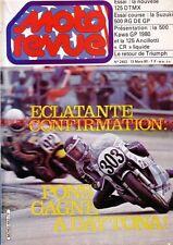 MOTO REVUE 2453 SUZUKI RG 500 KR KAWASAKI YAMAHA 125 DTMX Ancillotti 125 1980
