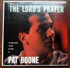 Pat Boone The Lords Prayer 1958  Dot 1068  Spiritual  45 EP Picture Sleeve  VG++