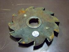 7 5/8 x 3/4 x 1 1/2 ID 12 tooth carbide tipped slot mill strong tool boring mill