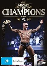 WWE - Night Of Champions 2010 (DVD, 2010)
